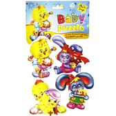 Мягкий пазл пасхальный с ципленком-девочкой, Baby puzzle, Vladi Toys, ципленок-девочка с яйцом от Vladi Toys (ВладиТойс)