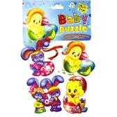Мягкий пазл пасхальный с ципленком в яйце, Baby puzzle, Vladi Toys, ципленок в шляпе в яйце от Vladi Toys (ВладиТойс)