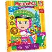 Мозаика мягкая с Машей - 1 картинка, 360 наклеек (VT4207-03), Vladi Toys от Vladi Toys (ВладиТойс)