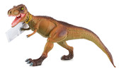 Динозавр  Горгозавр- хищные челюсти , 28 см, светло коричнево-зеленый от HGL