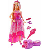 Набор Barbie с куклой серии  Королевские косы