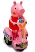 Свинка Пеппа на бат. Peppa Pig на мотоцикле