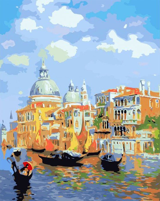 Лазурь Венеции, 40х50см