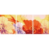 Триптих. Солнечный свет, 50х150см