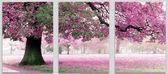 Триптих. Весенний цвет, 50х150см
