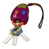 Развивающая игрушка – КЛЮЧИКИ (свет, звук, фиолетовые) от Battat (Баттат)