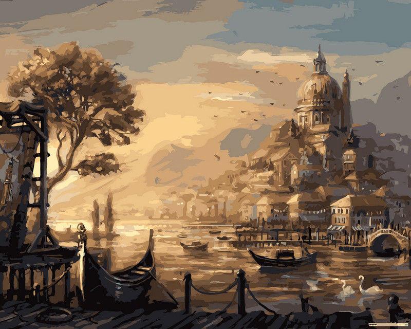Вечерняя Венеция, 40х50см