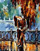 Поцелуй после дождя, 40х50см