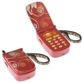 Развивающая игрушка – ПЕРВЫЙ ТЕЛЕФОН (свет, звук, красный) от Battat (Баттат)