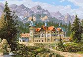 Замок Спящей красавицы, 40х50см