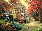 Осенние краски, 40х50см
