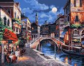 Венецианская ночь, 40х50см