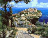 Дворец Де Монако, 40х50см