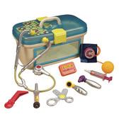 Игровой набор доктора - БУДЬТЕ ЗДОРОВЫ (с аксессуарами, свет, звук, синий)