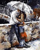 Любовь под дождем, 40х50см