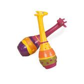 Музыкальная игрушка серии ДЖУНГЛИ - набор маракасов ДВА ЖИРАФА от Battat (Баттат)