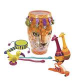 Музыкальная игрушка – ЛЕОПАРД (9 инструментов, в барабане)