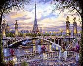 Воспоминания о Париже, 40х50см