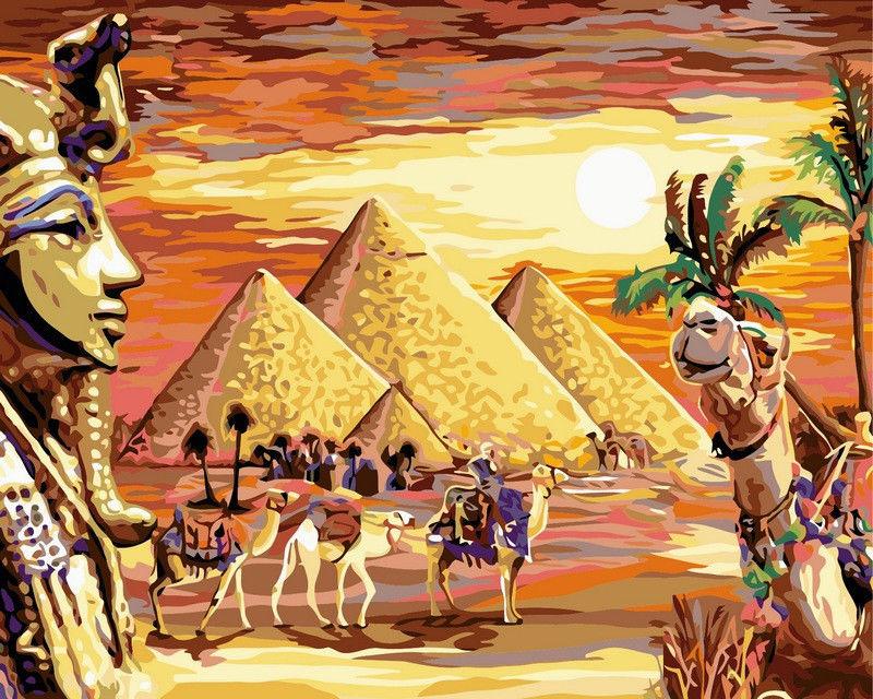 Загадочный Египет, 40х50см