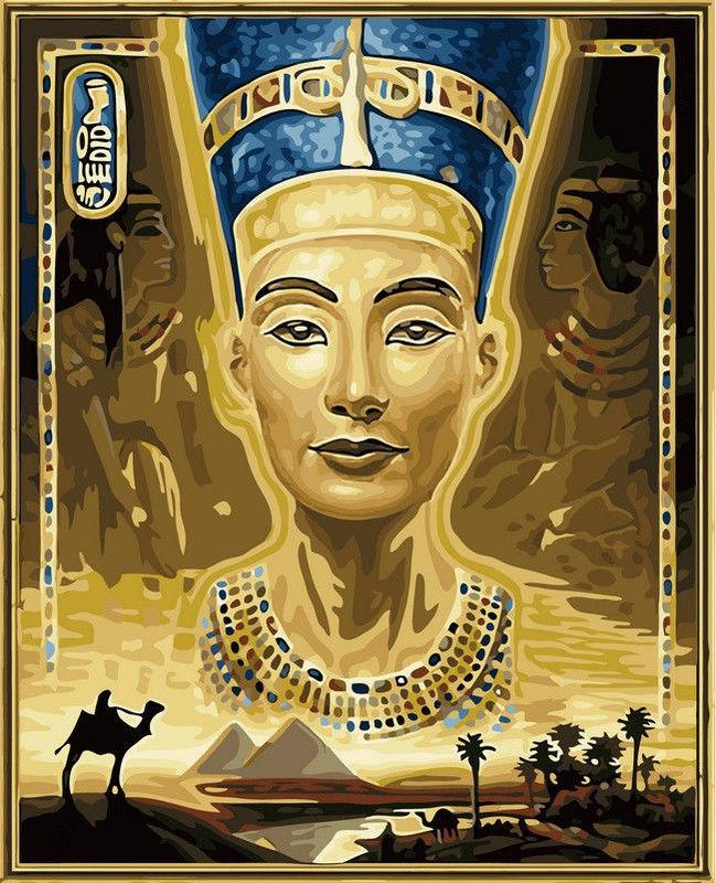 Нефертити, 40х50см