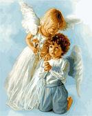 Ангельские дети, 40х50см