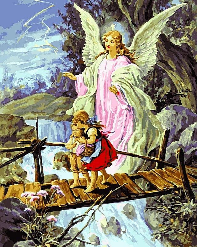 Ангел хранитель, 40х50см