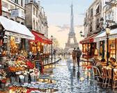 Париж после дождя, 40х50см