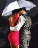 Романтика под зонтом, 40х50см