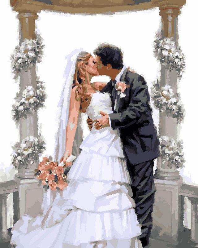 Свадебная арка, 40х50см