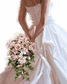 Букет невесты, 40х50см