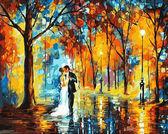 Дождливая свадьба, 40х50см