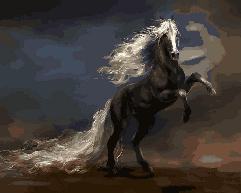 Чудный конь, 40х50см
