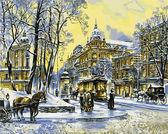 Владимирская. Зима, 40х50см