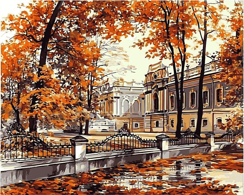Мариинский дворец, 40х50см