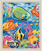 Рыбный мир, 40х50см от Идейка