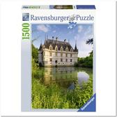 Пазл Замок Азе-ле-Ридо, Франция, 1500 элементов