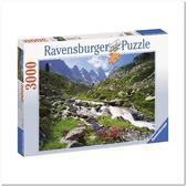 Пазл Австрийские горы, 3000 элементов