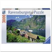 Пазл Согне-фьорд, Норвегия, 3000 элементов