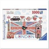 Пазл Лондон, 1000 элементов