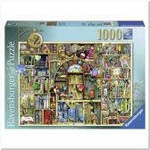 Пазл Причудливый книжный магазин №2, 1000 элементов