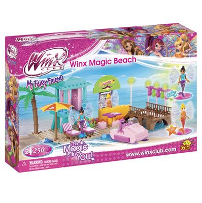 Волшебный пляж