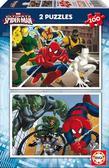 Пазл Человек-паук 2 пазла по 100 элементов