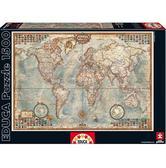 Пазл Карта мира 1500 элементов