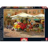 Пазл Цветочный рынок 1500 элементов от EDUCA
