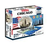 Объемный пазл Чикаго, США