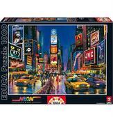 Пазл светящийся Таймс-сквер, Нью-Йорк 1000 элементов