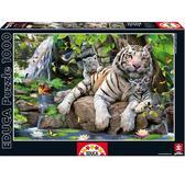 Пазл Белий бенгальский тигр 1000 элементов