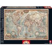 Пазл Политическая карта мира 4000 элементов