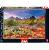 Пазл Закат в Ред Рокс, Аризона США 4000 элементов