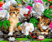 Милые котики, 40х50см